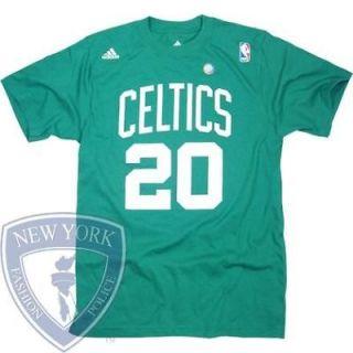 BOSTON CELTICS T SHIRT RAY ALLEN 20 NBA BASKETBALL XL