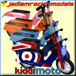 KIDDIMOTO Scooter   Kids Child Balance Bike Range   Pick Colour