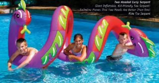 INFLATABLE SWIM POOL LAKE TUBE KIDS FLOAT ON RIVER TOY