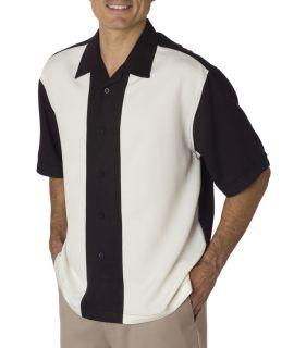 Cubavera Bedford Cord Camp Shirt Charlie Sheen C03