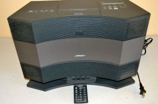 Bose Acoustic Wave Music System Model CD 3000 with AMWS Pedestal PD 2