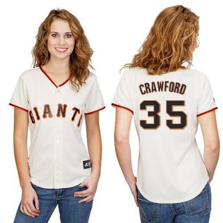 Brandon Crawford San Francisco Giants Womens Home Replica Jersey
