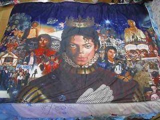 NEW michael jackson MJ Classic Breaking news Bed Sheet blanket 59.05in