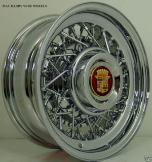 wire wheels cadillac in Car & Truck Parts