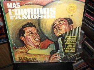 ALEGRES DE TERAN MAS CORRIDOS FAMOSOS LP