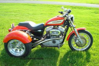 FULL CONVERSION TRIKE KIT 79 03 Harley Sportster