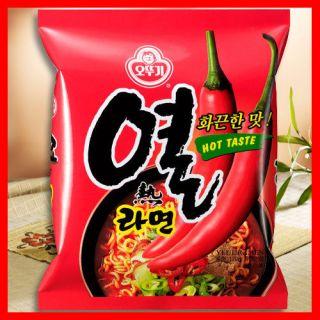 Ramyun X 5PCS / ramyun, ramen, Korean Instant noodle soup, snack food
