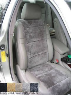 sheepskin car seat cover in Seat Covers