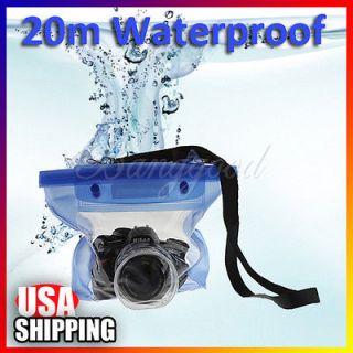 DSLR SLR Camera Waterproof Underwater Housing Case Dry Bag For Sony