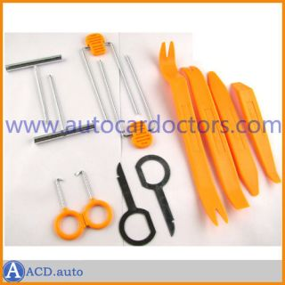 Car Door Plastic Trim Panel Dash Installation Removal Pry Tool Kit
