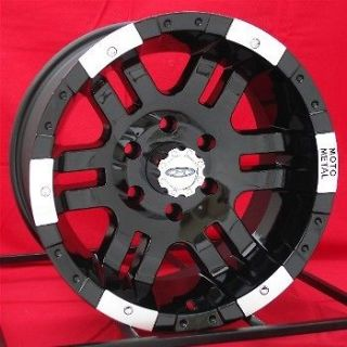 16 inch Black Wheels/Rims Chevy GMC 1500 6 Lug Truck