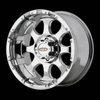 Inch MO955 Moto Metal Chrome RIMS 8 lug 8x170 Wheels Ford F250 Truck