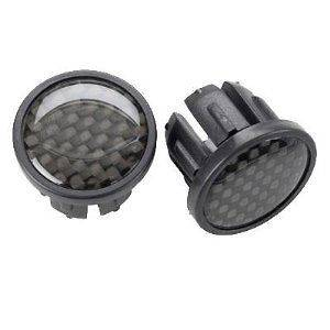 DESIGN CARBON FIBER BAR END PLUGS ROAD MOUNTAIN BIKE BICYCLE NEW