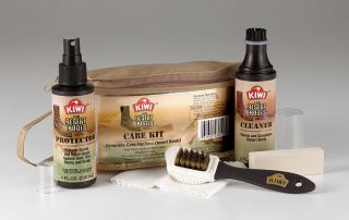 KIWI Military Desert Combat Boot Water Protection Cleaning Care Kit