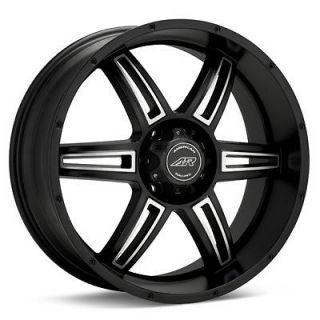 20 inch Toyota TRUCK SUV BLACK RIMS WHEELS 6 Lug (Fits Toyota Tacoma)