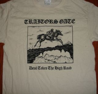 Traitors Gate devil takes the high road Shirt nwobhm sabbath maiden