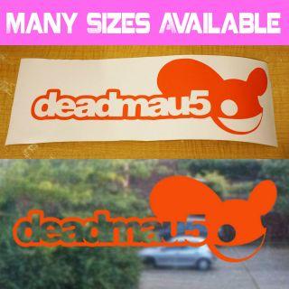 Deadmau5 Name Wall Vinyl Sticker Car Window Glass Laptop Decal