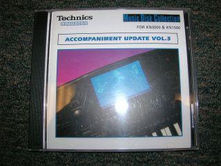 Technics Keyboard Software Accompaniment Update Vol. 3