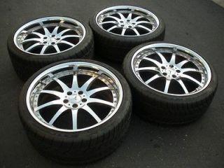 20 iforged S55 chrome Mercedes S500 amg oem CL500 wheels asanti hre
