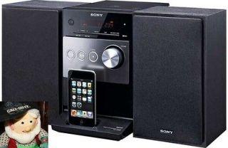 NEW SONY CMT FX300i Micro Hi Fi Stereo System w Ipod dock AM/FM CD