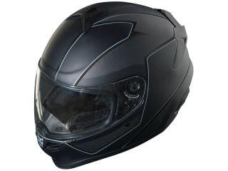 Kali Naza Carbon  Darkness Graphic Street/ Motorcycle Helmet