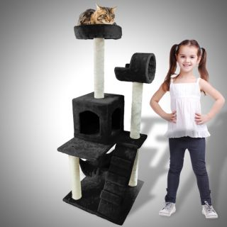 52 Cat Tower Tree Condo Scratcher Furniture Kitten House Hammock Bed