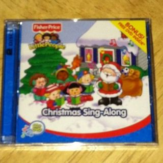 People Christmas Sing Along By Fisher Price Cd And Dvd Combo New