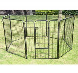 Panel 24 32 40 Heavy Duty Pet Playpen Dog Exercise Pen Cat Fence
