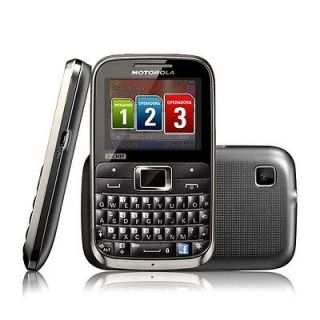 Motorola EX117 Triple SIM Unlocked GSM Quadband Motokey Phone New