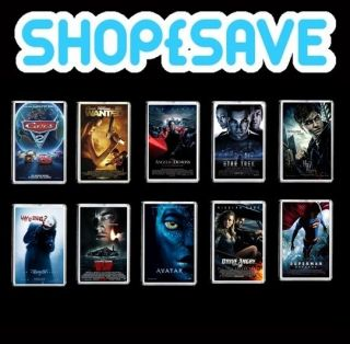Movie and Film Poster Large Fridge Magnet Pic 45mm X 70mm