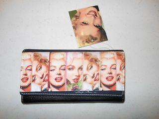 Marilyn Monroe Wallet/Checkbook Holder   Brand New   Officially