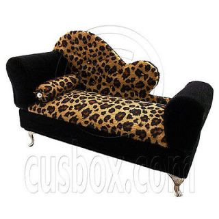 Brown fabric chaise longue sofa bed sofas armchairs for Chaise jewelry box