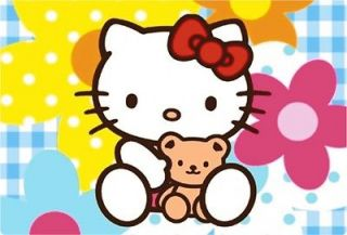 HELLO KITTY FLOWER FUN 7 8 9 10.2 15 17 LAPTOP NETBOOK cover
