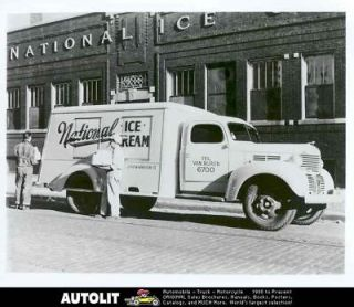1939 Dodge Ice Cream Truck Factory Photograph