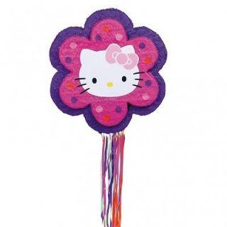 Hello Kitty Flower Pull Pinata
