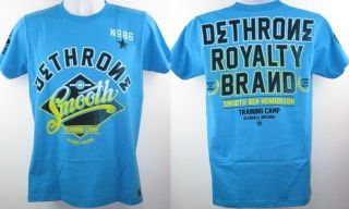 Smooth Ben Henderson UFC Dethrone Royalty Turquoise T shirt New