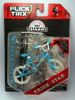 OS HUTCH TRICK STAR RETRO BMX BIKE BICYCLE TOY SKYWAY BABY BLUE WHITE