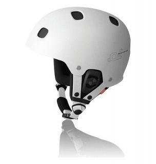 POC Receptor BUG Ski/Snowboard Helmet, White/Black, Medium Large