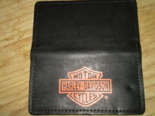 HARLEY DAVIDSON CHECKBOOK/WALLET