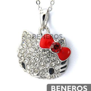 hello kitty swarovski necklace in Jewelry & Watches