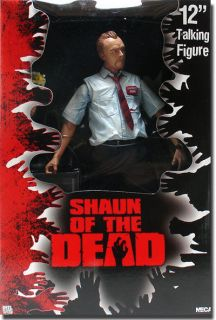Shaun of the Dead Talking Shaun 12 Action Figure