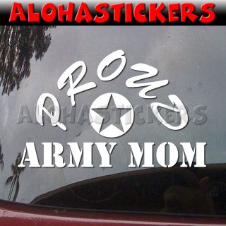 MOM Military Car Truck Laptop Moped Vinyl Decal Window Sticker ML21