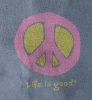 Life is good Womens Crusher tee   Elemental Peace   New with tags