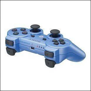 PS3 Wireless Rapid Fire Controller 8 Mode Best Modded Blue for MW3