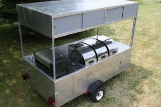 HOT DOG CART VENDING CONCESSION TRAILER STAND BRAND NEW