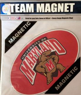 Terrapins 8 Team Magnet Auto Home Football Basketball University of