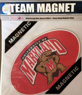 Terrapins 8 Team Magnet Auto Home Football Basketball University of