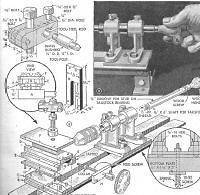 BUILD YOUR OWN WORKSHOP, STEAM ENGINE, COMPRESSOR PLANS OLD TIMER WOOD