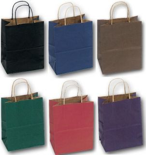KRAFT PAPER GIFT BAG SHOPPING WHOLESALE BAGS PARTY WEDDING SUPPLIES