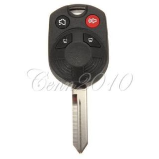 Button Remote Head Key Keless Entry Replacement Fob For Ford Lincoln